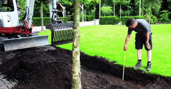 Hedge installation