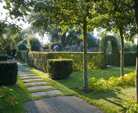 formal garden design and ideas